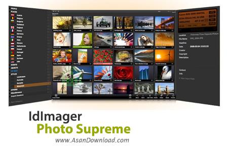 دانلود IdImager Photo Supreme v4.1.0.1566 - نرم افزار مدیریت و دسته بندی تصاویر
