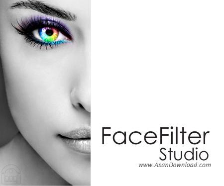 دانلود FaceFilter Studio v3.02.1720.1 - نرم افزار روتوش و زیباسازی تصاویر صورت