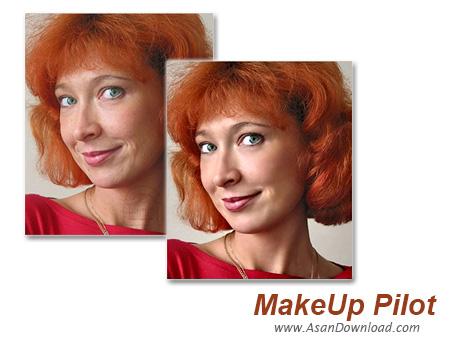 دانلود MakeUp Pilot v4.3.0 - نرم افزار آرایش چهره و روتوش عکس