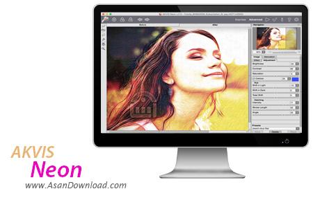 دانلود AKVIS Neon v2.0.332.12994 - نرم افزار عکس به تصاویر درخشان