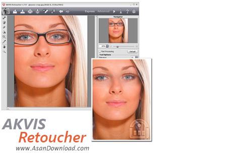 دانلود AKVIS Retoucher v7.0.987.10608 - پلاگین ترمیم عکس های قدیمی