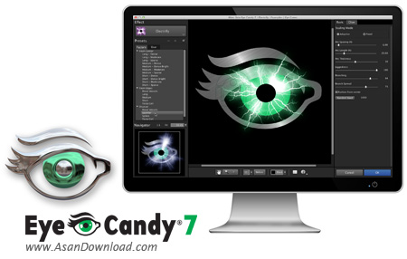 دانلود Alien Skin Eye Candy v7.1.0.1192 - پلاگین فیلترگذاری روی عکس ها