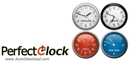 دانلود PerfectClock v4.5.2.32 - ساعت های عقربه ای زیبا برای دسکتاپ