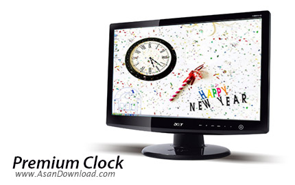 دانلود Premium Clock v2.65 - نرم افزار ساعت عقربه ای برای ویندوز
