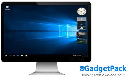 دانلود 8GadgetPack v26.0 - گجت های کاربردی ویندوز