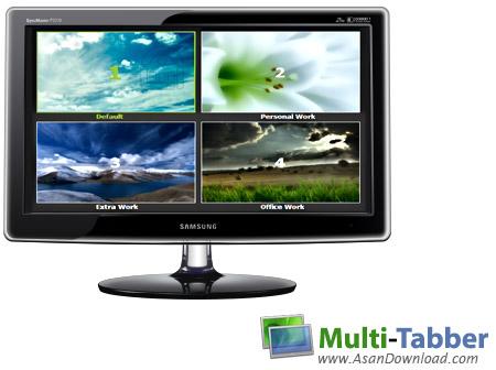 دانلود Multi-Tabber v1.0 - نرم افزار ایجاد و مدیریت دسکتاپ مجازی در ویندوز 7