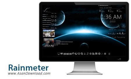دانلود Rainmeter v4.2.0 Build 3111 - نرم افزار زیبا سازی محیط ویندوز