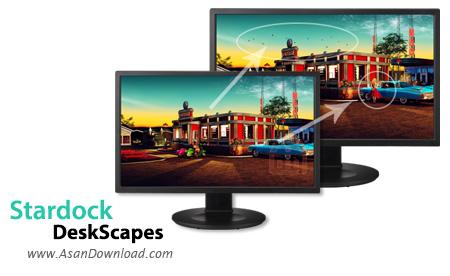 دانلود Stardock DeskScapes v8.51 - نرم افزار پخش فیلم در پس زمینه دسکتاپ