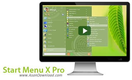 دانلود Start Menu X Pro v6.1 - نرم افزار منوی استارت پیشرفته
