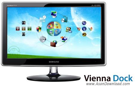 دانلود Vienna Dock v2.0 - نرم افزار زیباسازی دسکتاپ