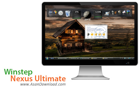 دانلود Winstep Nexus Ultimate v18.5.0.1107 - نرم افزار زیبا سازی ویندوز