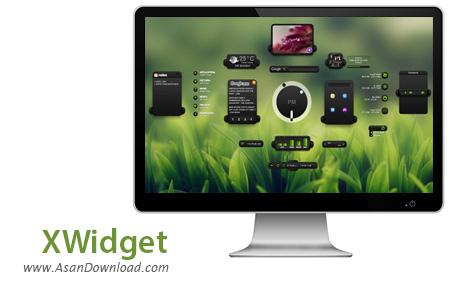 دانلود XWidget v1.9.15.625 - نرم افزار زیباسازی ویندوز