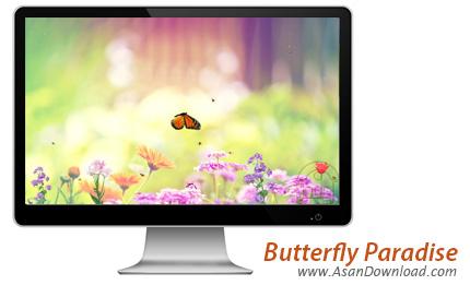 دانلود Butterfly Paradise ScreenSaver - اسکرین سیور پرواز پروانه ها