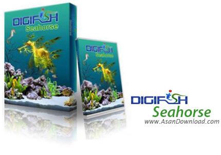 دانلود DigiFish SeaHorse v1.0 - اسکرین سیور اسب ماهی ها