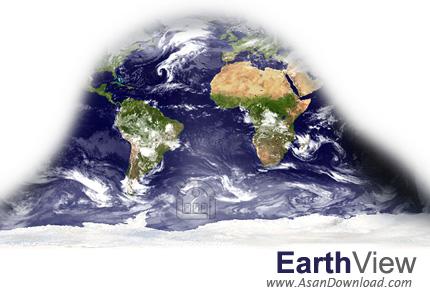 دانلود EarthView v5.5.0 - اسکرین سیور کره زمین در پس زمینه دسکتاپ