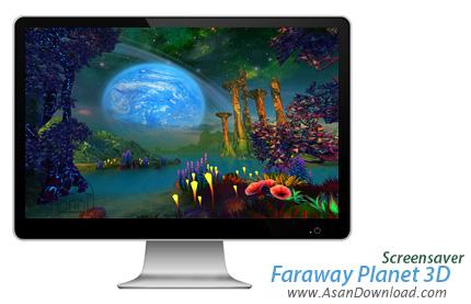 دانلود Faraway Planet 3D ScreenSaver - اسکرین سیور سیاره رویایی