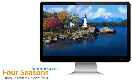 دانلود Four Seasons Screensaver - اسکرین سیور 4 فصل سال