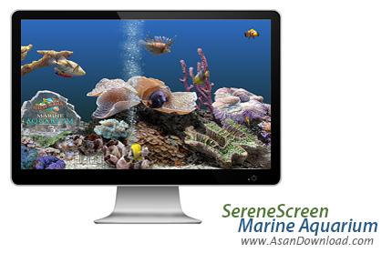دانلود Marine Aquarium v3.5.9 - اسکرین سیور آکواریوم زیبا با ماهی های رنگارنگ