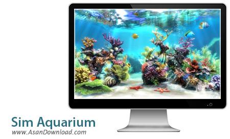 دانلود Sim Aquarium v3.8 - اسکرین سیور آکواریوم