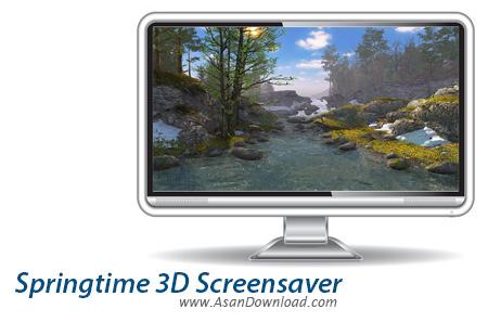 دانلود Springtime 3D Screensaver v1.0 - اسکرین سیوری با موضوع بهار