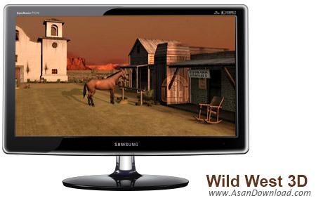 دانلود Wild West 3D Screensaver - اسکرین سیور غرب وحشی