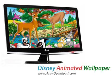 دانلود Disney Animated Wallpaper - پس زمینه های متحرک