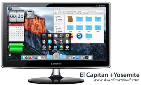 دانلود El Capitan Transformation Pack v3.2 + Yosemite v4.0 - نرم افزار تبدیل محیط ویندوز به سیستم عامل مک