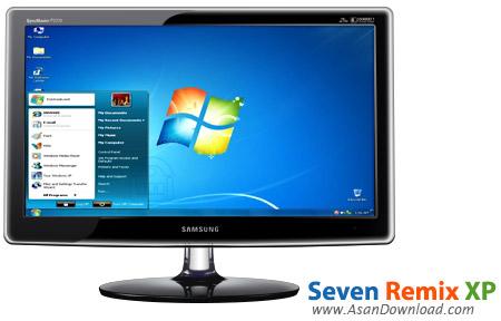 دانلود Seven Remix XP v2.5.0.1006 - نرم افزار تبدیل ظاهر ویندوز XP به ویندوز 7