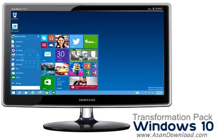 دانلود Windows 10 Transformation Pack v7.0 - نرمافزار شبیه ساز رابط کاربری ویندوز 10