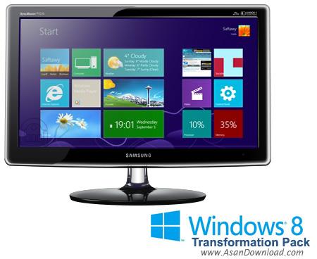 دانلود Windows 8 Transformation Pack v9.1 - نرم افزار تبدیل انواع ویندوز به ویندوز 8