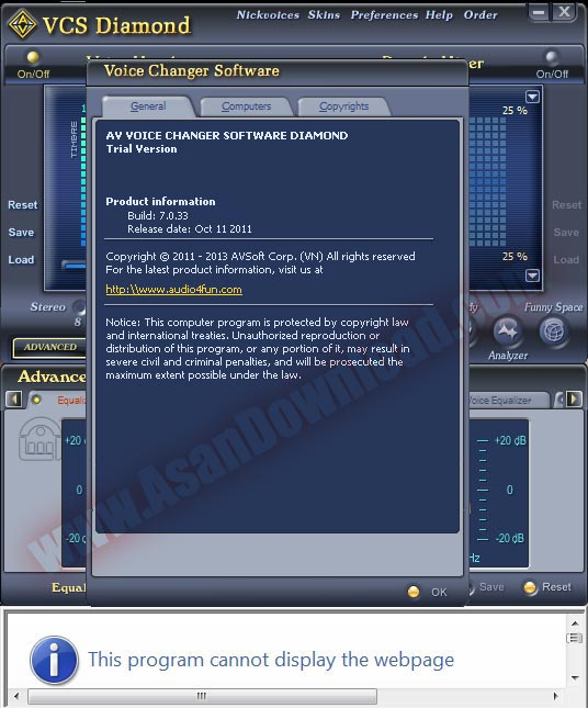 AV Voice Changer Software - Free download and …