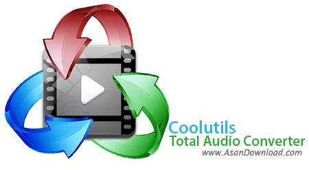 دانلود Coolutils Total Audio Converter v5.2.0.84 - نرم افزار تبدیل فرمت های صوتی