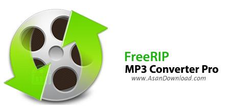 دانلود FreeRIP MP3 Converter Pro v5.7.1.1 - نرم افزار مبدل فرمت های صوتی