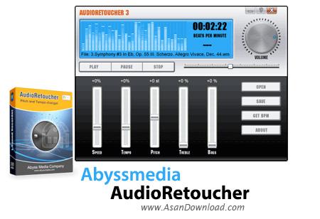 دانلود Abyssmedia AudioRetoucher v4.8.0.0 - نرم افزار تغییر صداها