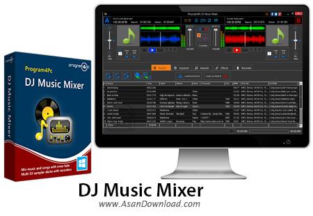 دانلود DJ Music Mixer v5.4.0 - نرم افزار میکس حرفه ای موزیک ها