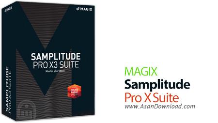 دانلود MAGIX Samplitude Pro X3 Suite v14.3.0.460 - نرم افزار میکس و ویرایش فایل های صوتی