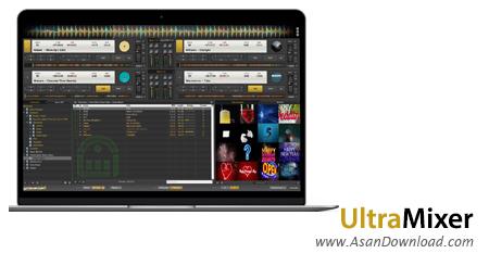 دانلود UltraMixer Pro Entertain v6.1.4 - نرم افزار میکس موزیک ها
