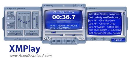 دانلود XMPlay v3.8.0.5 - نرم افزار پخش موزیک ها