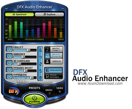 دانلود DFX Audio Enhancer v13.006 - نرم افزار تقويت پخش صدا و موسيقی