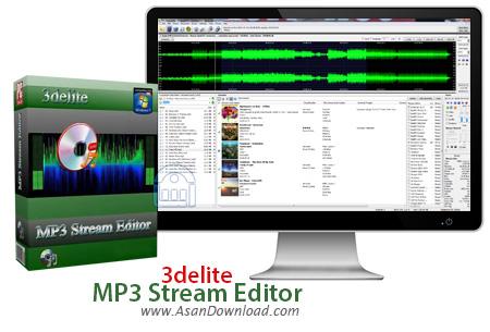 دانلود 3delite MP3 Stream Editor v3.4.4.3220 - نرم افزار ویرایش فایل های صوتی