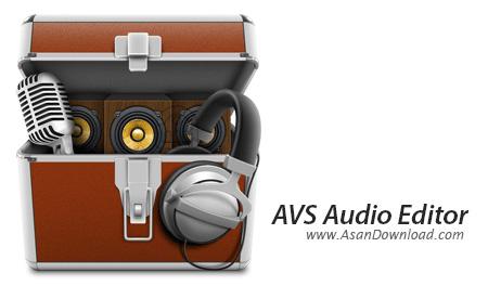 دانلود AVS Audio Editor v8.4.4.521 - نرم افزار تدوین حرفه ای موزیک ها