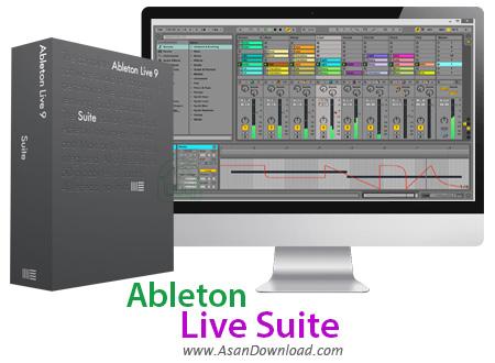 دانلود Ableton Live Suite v10.0.2 x64 - نرم افزار ویرایش و ساخت موزیک