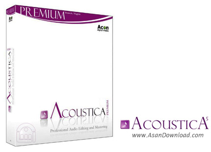 دانلود Acon Digital Media Acoustica Premium v6.0 Build 19 - ویرایش موزیک ها