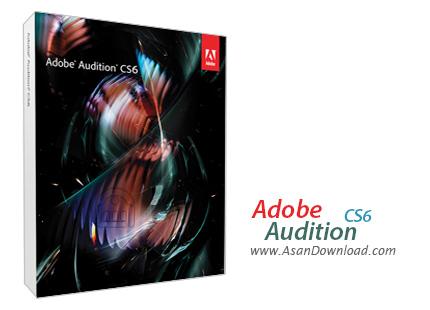 دانلود Adobe Audition CS6 v5.0 - حرفه ای ترین نرم افزار ویرایش صداها