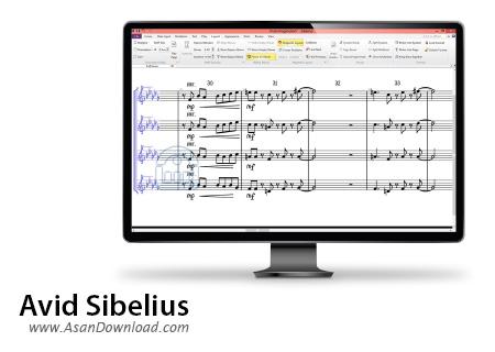 دانلود Avid Sibelius v8.3 Build 6 - نرم افزار نت نویسی و تنظیم آهنگ