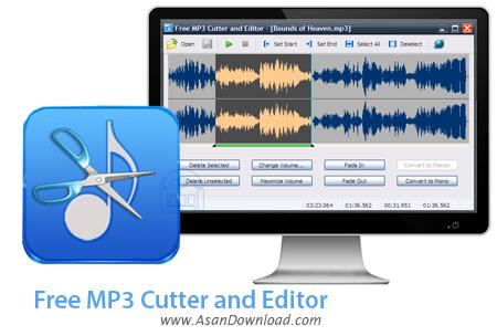 دانلود Free MP3 Cutter and Editor v2.8.0.1084 - ویرایشگر ساده موزیک