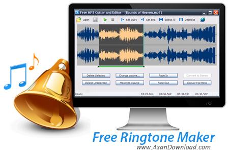 دانلود Free Ringtone Maker v2.5.0.1082 - نرم افزار ساخت رینگتون برای گوشی موبایل