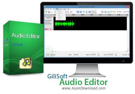 دانلود GiliSoft Audio Editor v1.7.0 - نرم افزار ساده ویرایش صداها