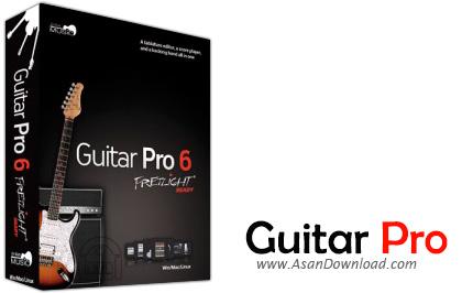 دانلود Guitar Pro v6.2.0 r11686 + SoundBanks r370 + Guitar 94000 Tabs  - نرم افزاری برای نوازندگان گیتار بعلاوه بانکهای صوتی