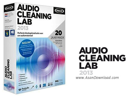 دانلود MAGIX Audio Cleaning Lab 2013 v19.0.0.10 - نرم افزار ویرایش حرفه ای موزیک ها